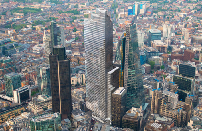 Construction the leadenhall building - New London Tower Design For 22 Bishopsgate Site News