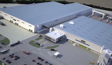 Laing O'Rourke advanced manufacturing facility