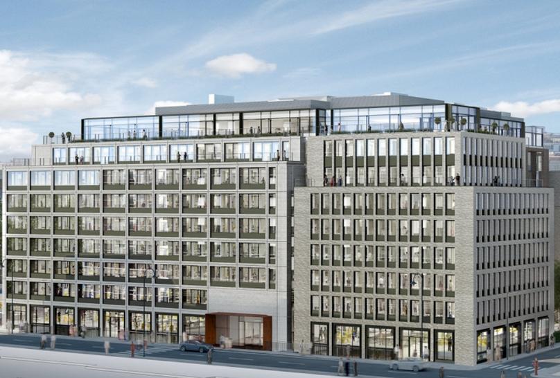 Derwent London To Start 163 125m Saatchi Building Job