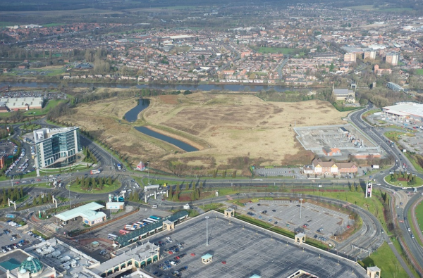 Trafford Waters site