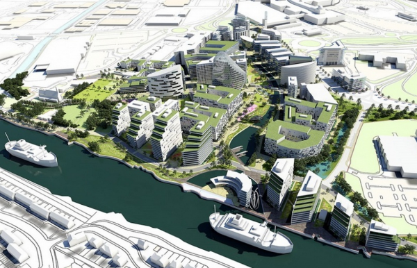 Trafford Waters masterplan