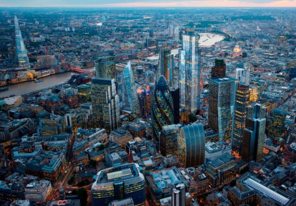 Proposed city skyline 22 Bishopsgate