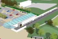 Portishead station plan
