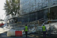 Hayes scaffolding collapse