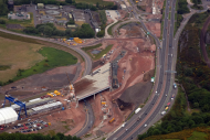 Queensferry Crossing north approach road