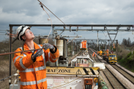 Crossrail surface lines electrification