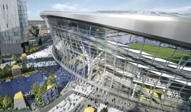 Spurs stadium