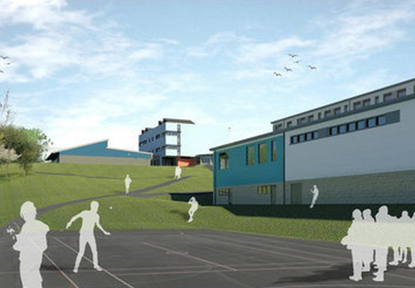 bam goahead for 16318m north devon academy construction