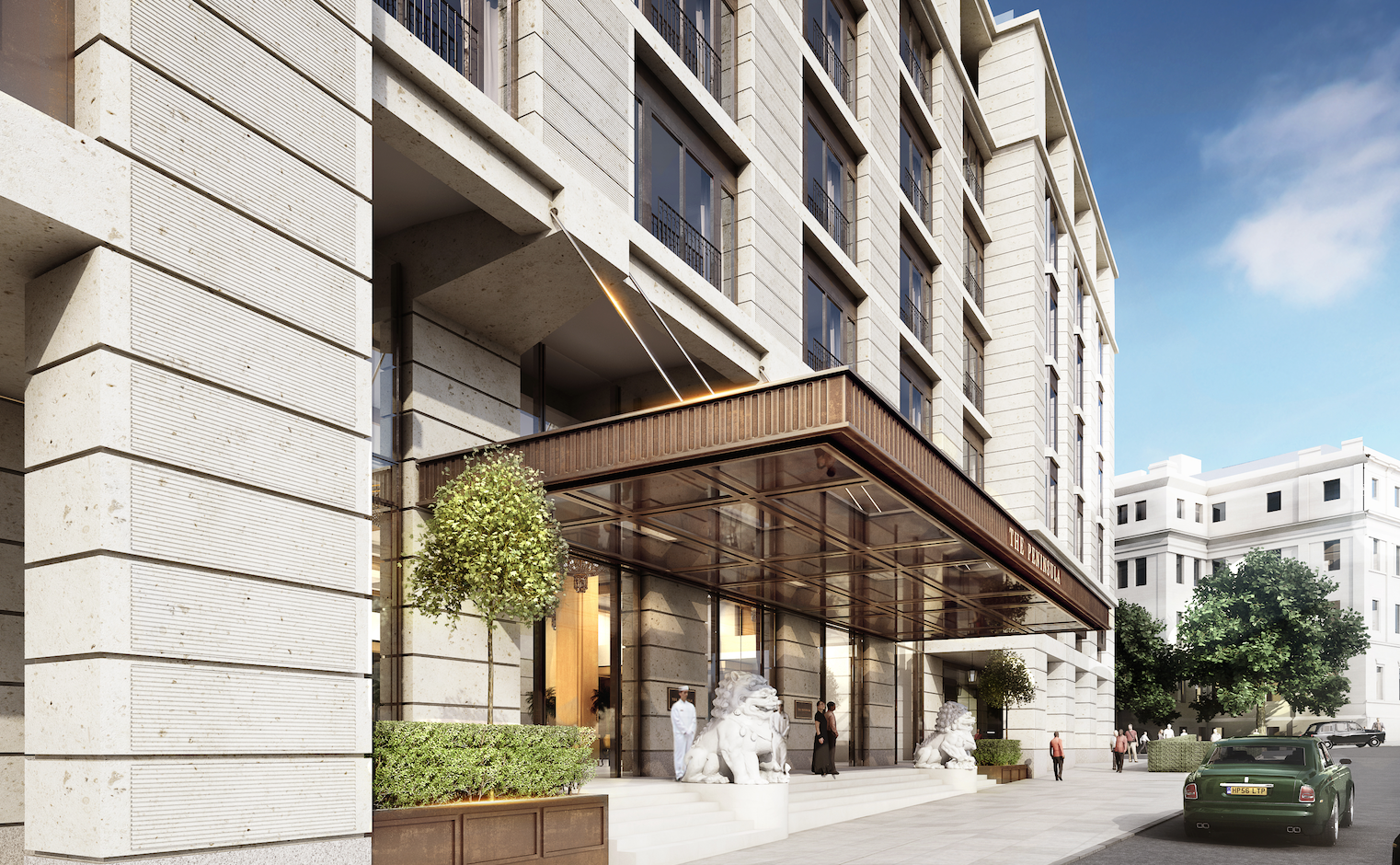 Green light for 500m peninsula london hotel for London hotels