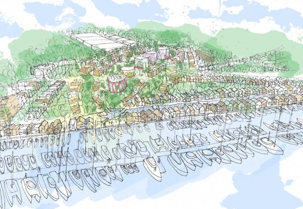 Purfleet waterfront