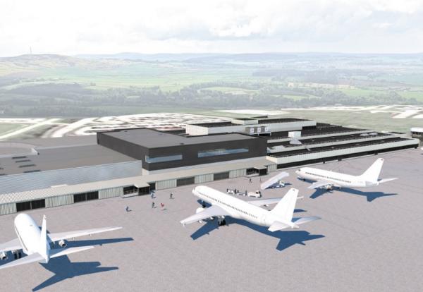Aberdeen airport terminal