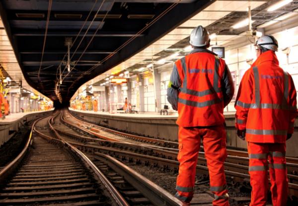 Balfour Beatty London Underground track