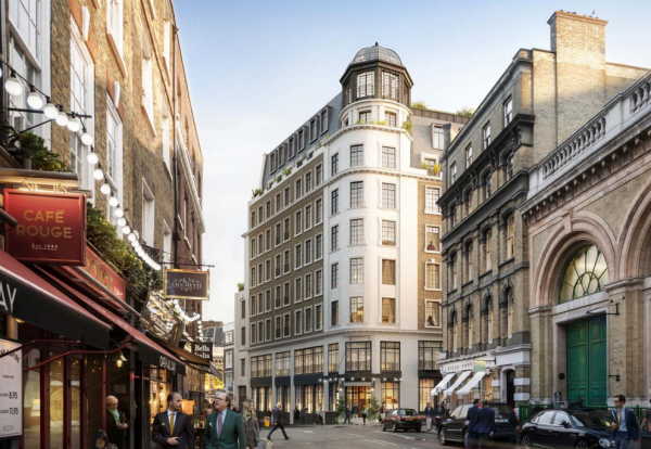 De Niro plans luxury 83 room Covent Garden hotel Construction