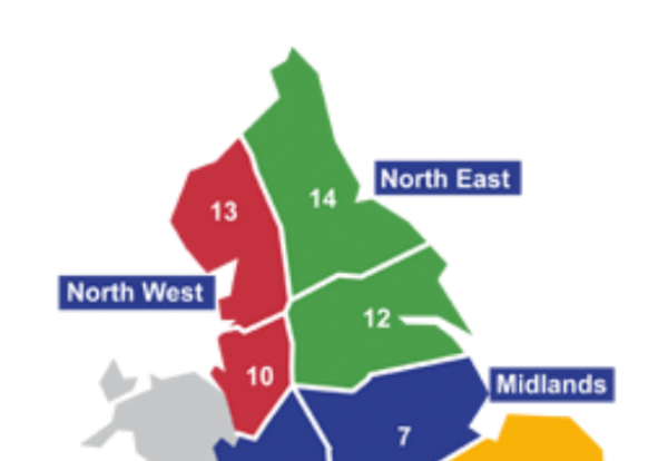 Highways regions