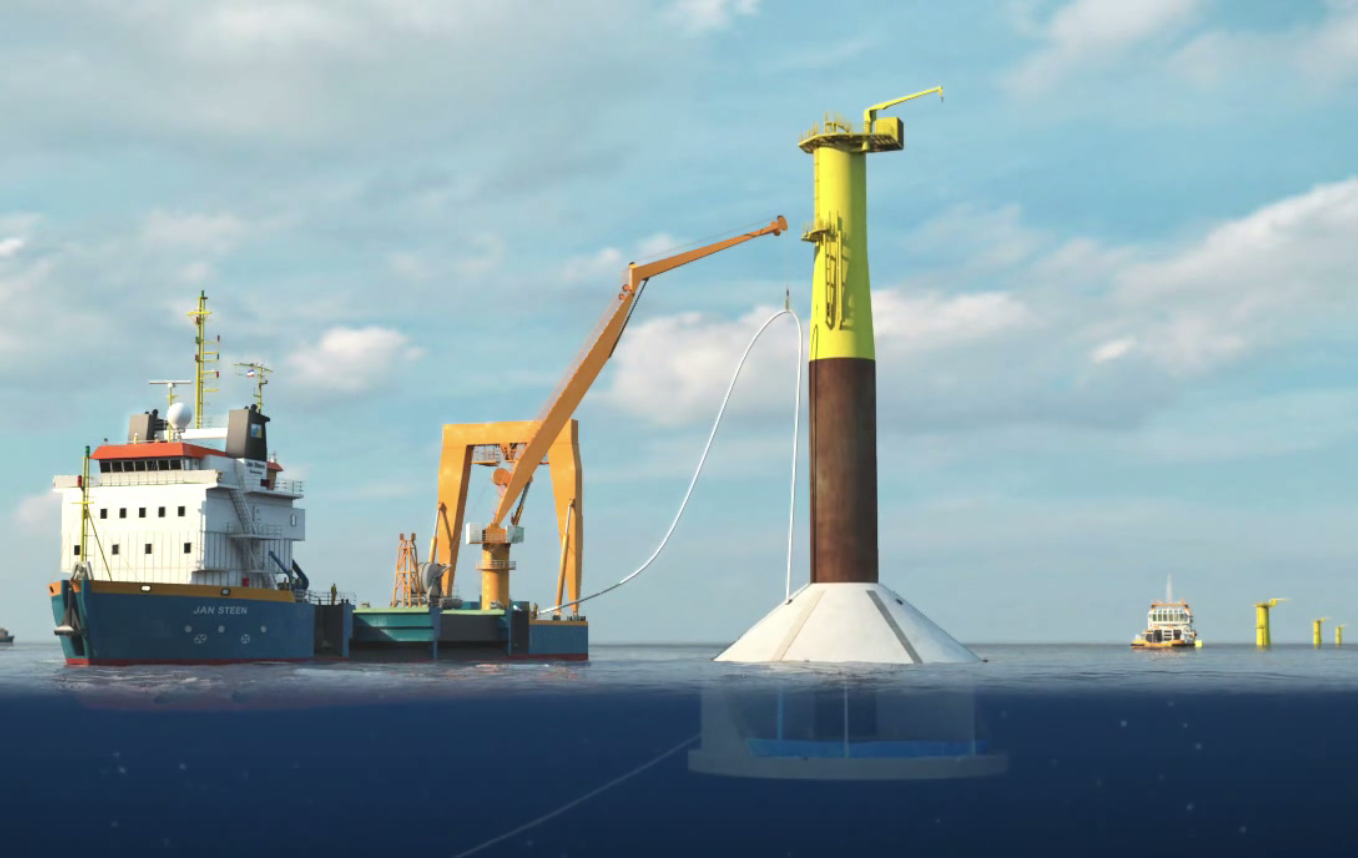 BAM offshore wind farm concrete gravity base