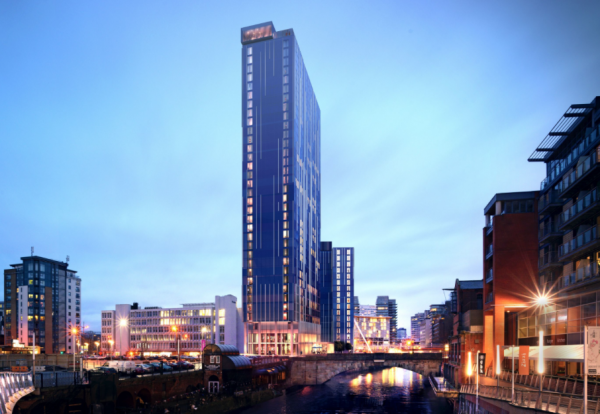 Select property Manchester Lowry hotel