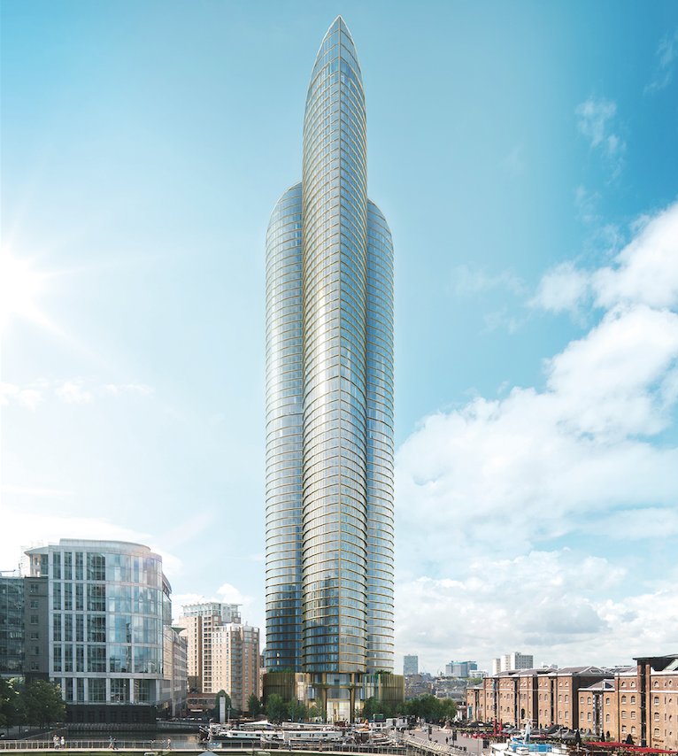 Spire London: Europe's tallest skyscraper for residents to be built in Docklands