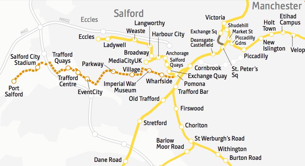 350m Manchester Metrolink approved Construction Enquirer