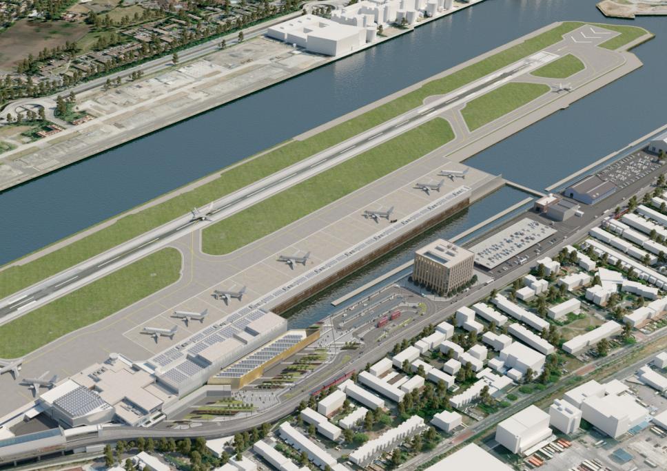 163 50m Concrete Deck Race For London City Airport