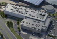 Jaguar Land Rover car park