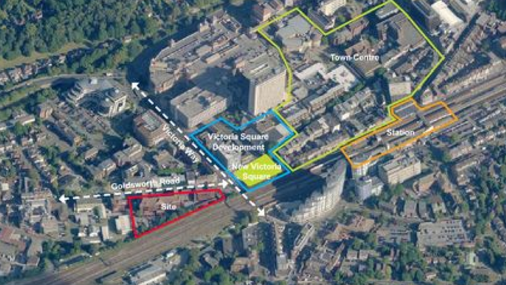 Woking town centre plans