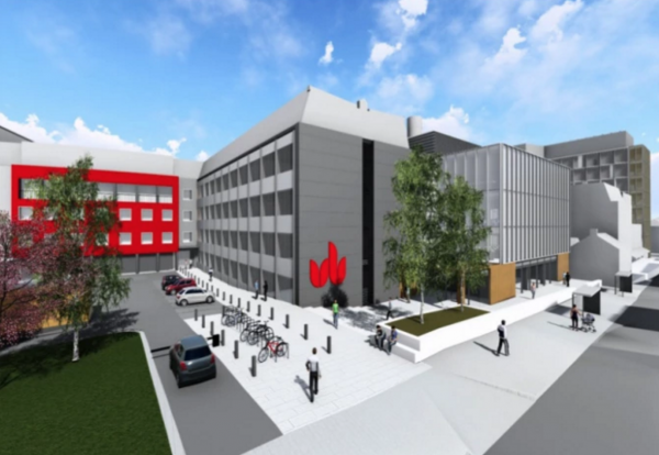 STEM building Luton