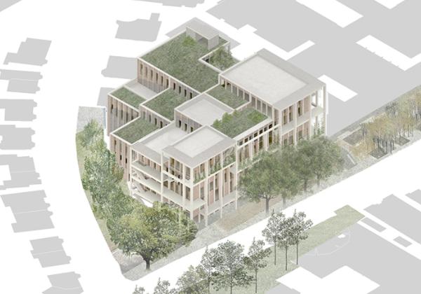 Town House building Kingston University