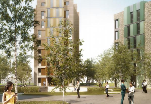 Hull University student accommodation