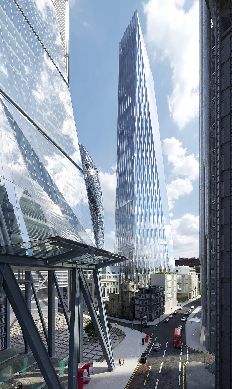Plans In For Cheesegrater S Big Brother In London