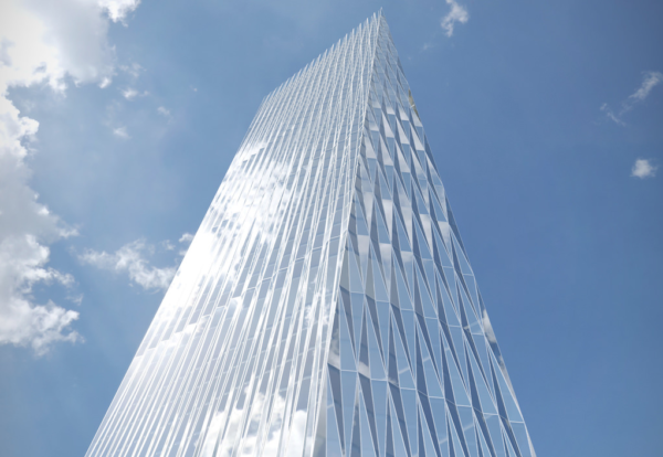 Plan For 56 Floor Tapering Square Mile Skyscraper