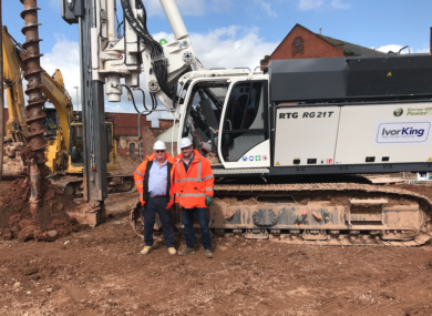 Agd Supplies Super Powered Rig To Piling Firm