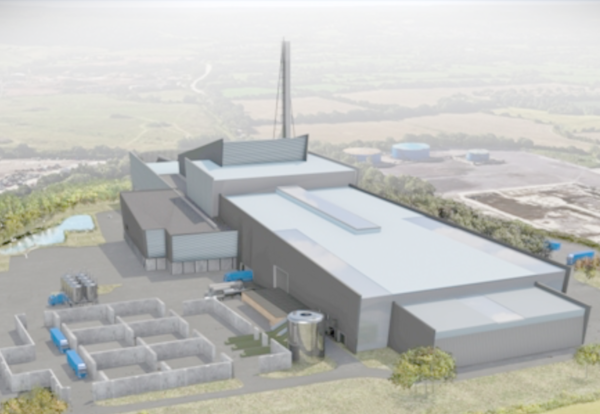 New £65m plastic recycling plant to be powered by landfill waste