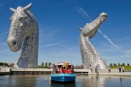 Kelpies Scottish Canals