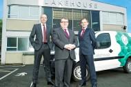 Sean Birrane, chief executive officer; Stuart Black, executive chairman; Jeremy Simpson, chief financial officer