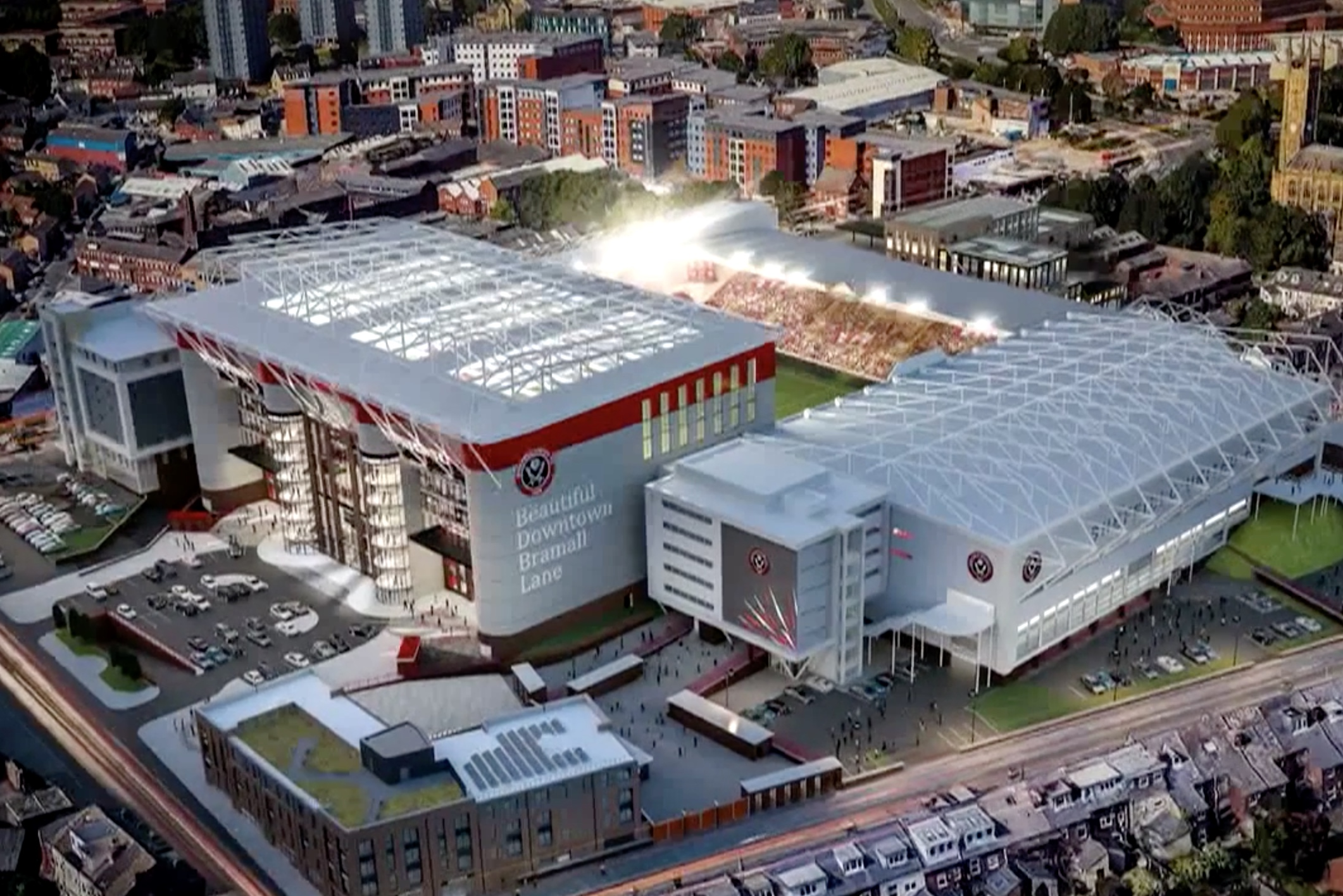 Sheffield United Submits Plan South Stand