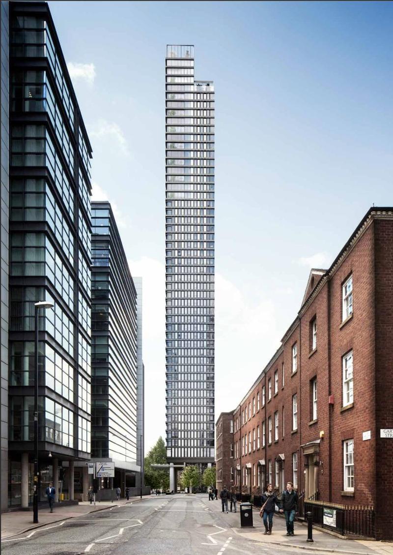 Manchester 52 Floor Skyscraper Approved Open Plan