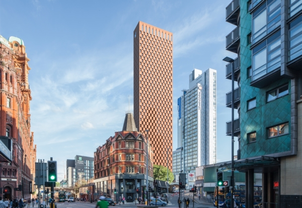 Plan for 55-storey Manchester student skyscraper