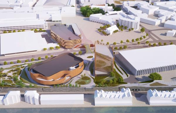 Buckingham gets £110m funding for Swansea Arena start