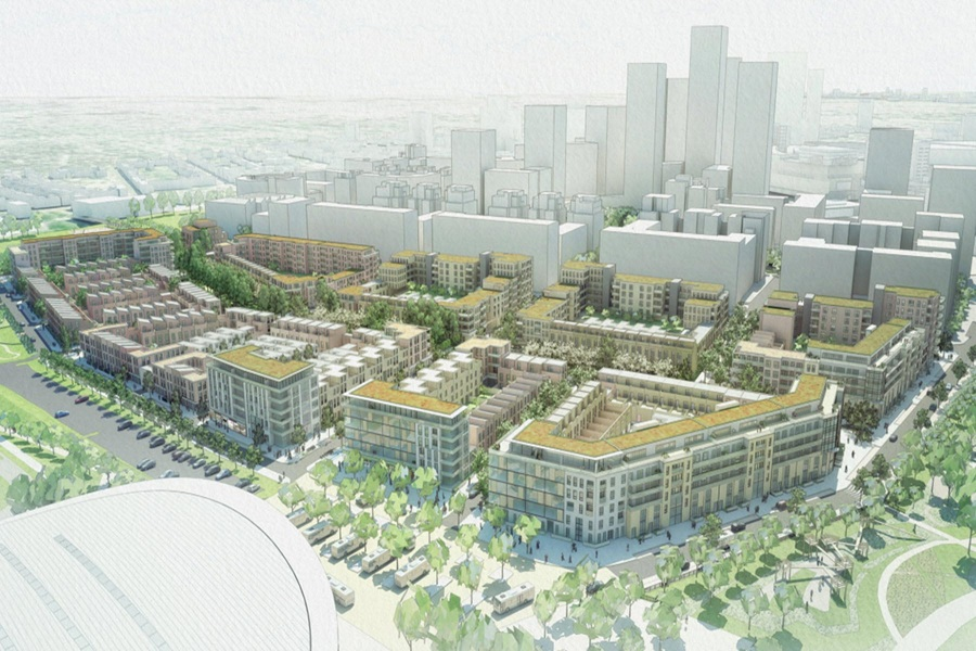 Go ahead for first new homes at olympic park for Olympic homes