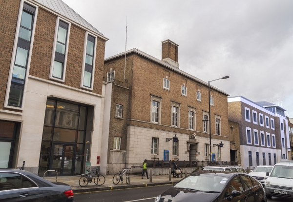 The existing Hammersmith Police Station