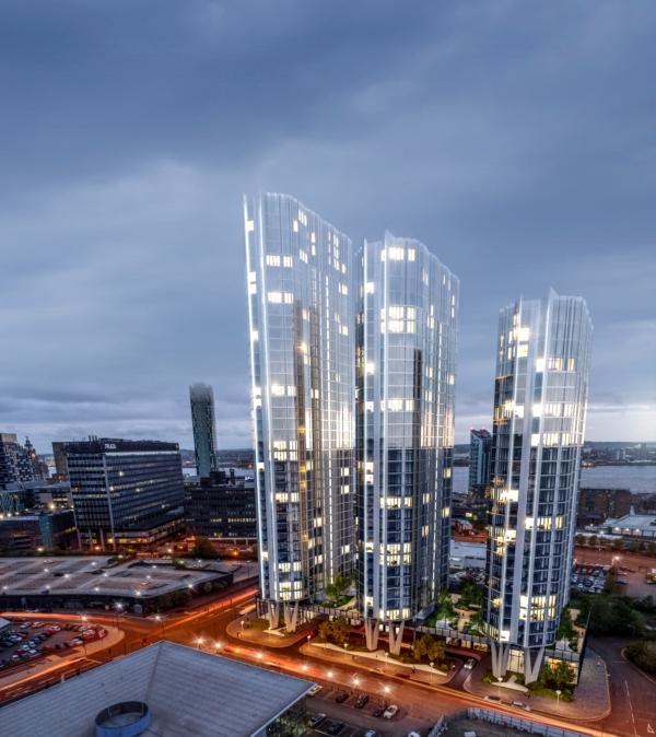 Triple towers revised
