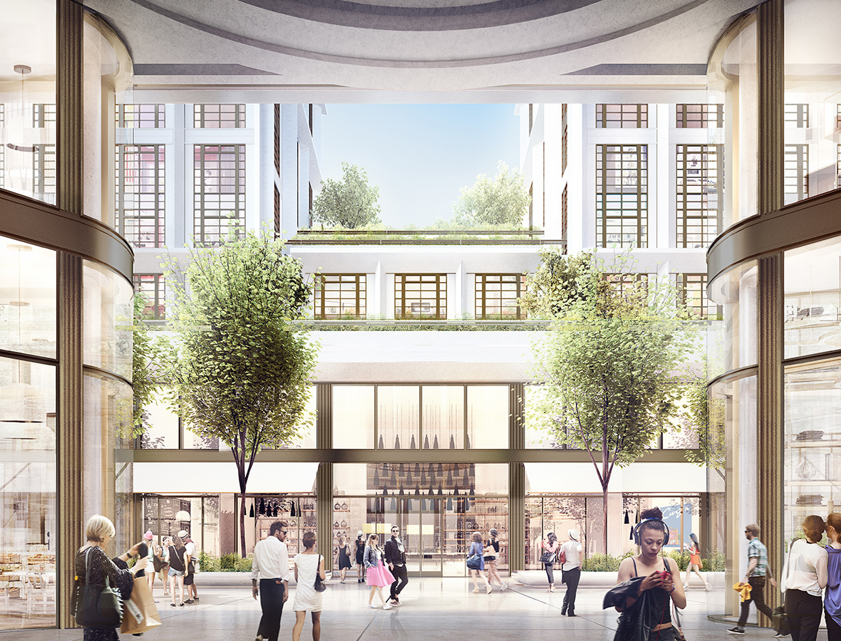Green light for 1bn harrods of bayswater construction for The bayswater