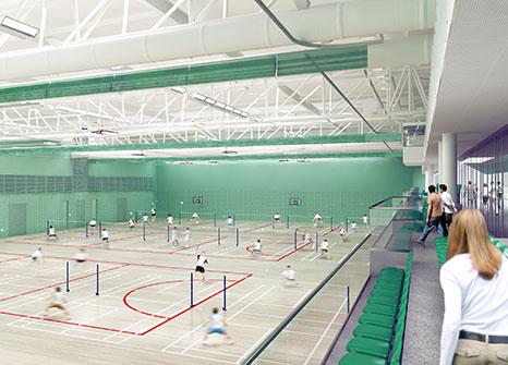 Kier Nets 27m Nottingham Uni Sports Centre Construction Enquirer