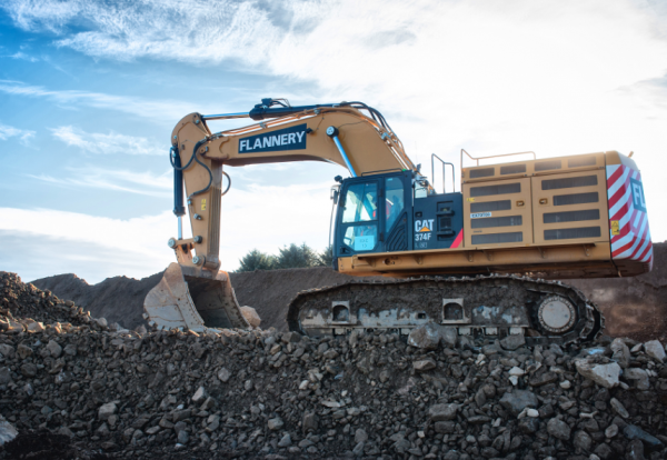 Flannery boosts fleet with £35m of Cat machines | Construction Enquirer