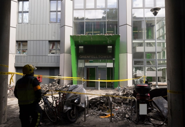 Grenfell cladding supplier halts global sales to high-rises