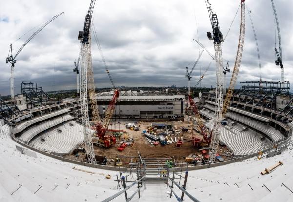 Latest Construction Shots Of New Spurs Stadium