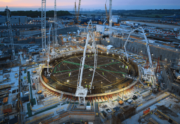 Milestone for Hinkley Point nuclear power station