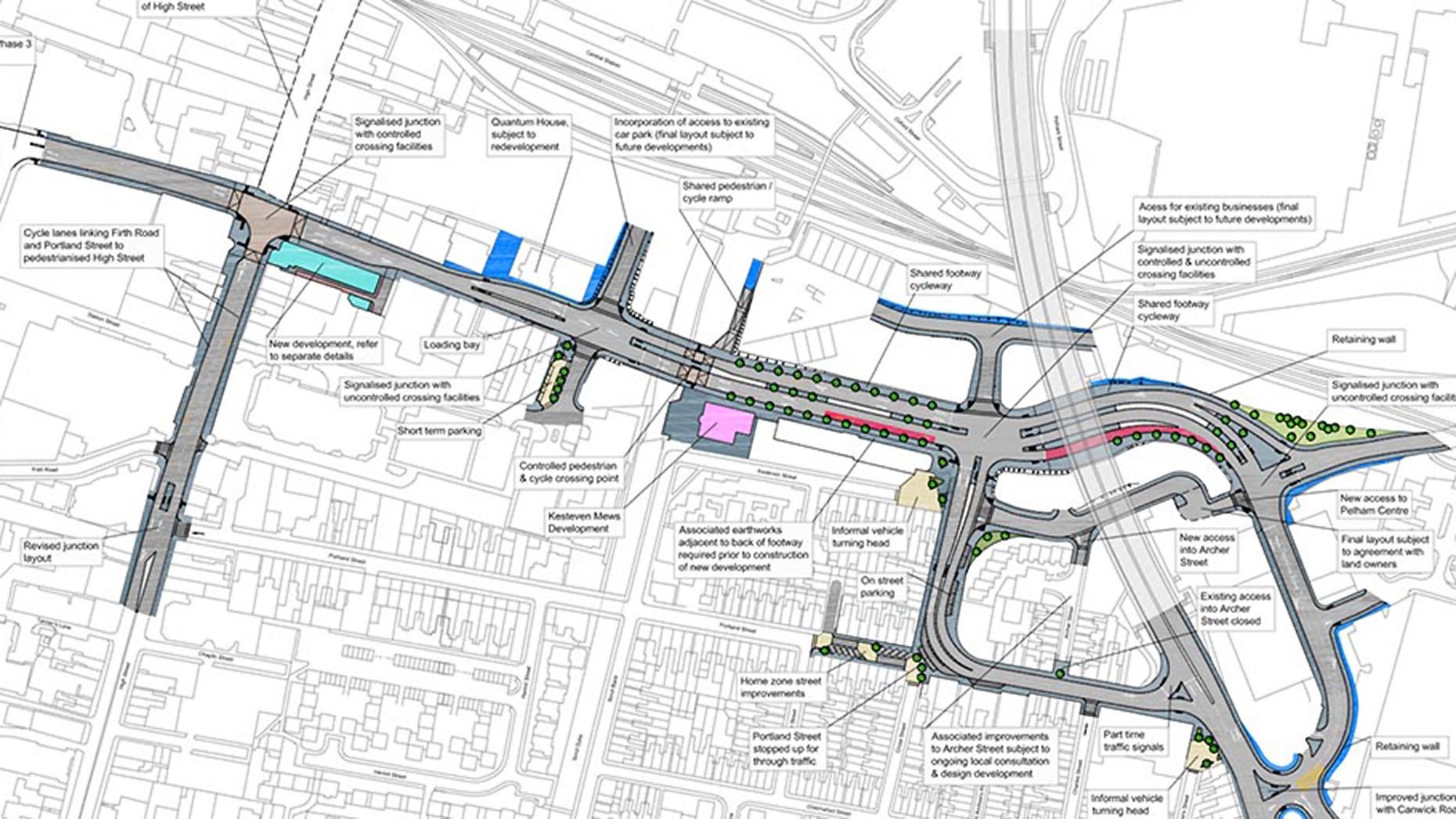 Balfour Clinches 10m Lincoln EastWest Road Link