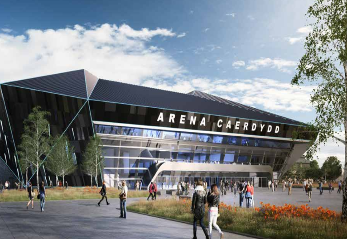 The indoor arena project is expectedto sustain over 2,000 jobs