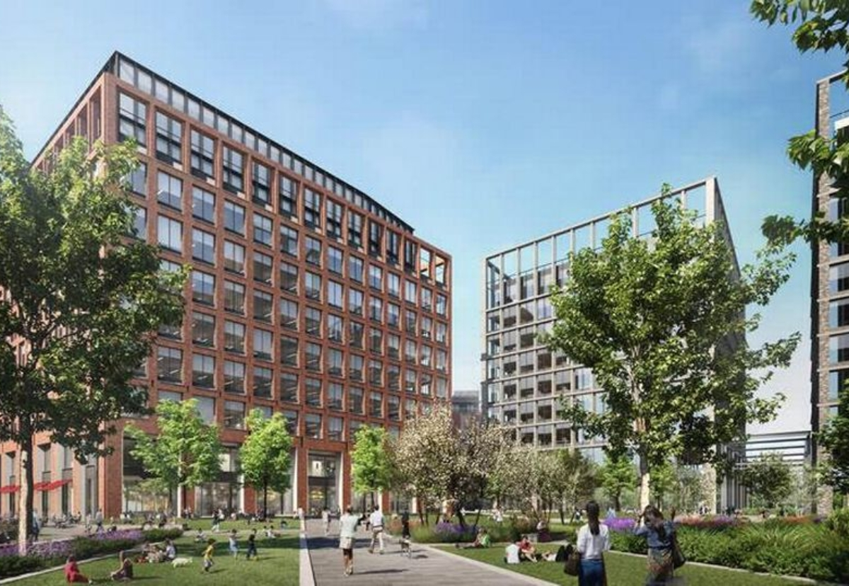 Pall Mall proposals in LIverpool would see three new office blocks and a hotel built on open land behind the former Exchange Station